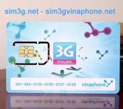 Sim 3g Vinaphone 240GB dùng không giới hạn